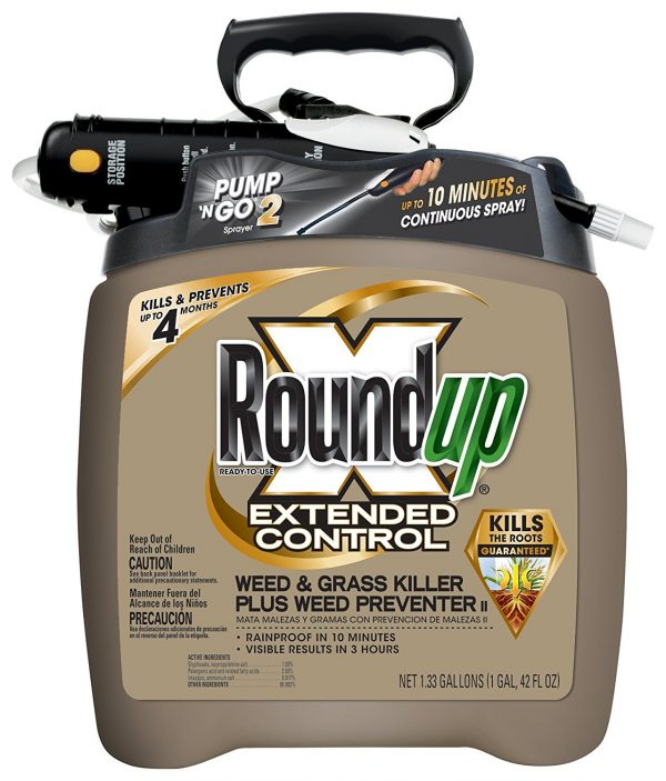 4. Roundup 5725070 Extended Control Weed and Grass Killer