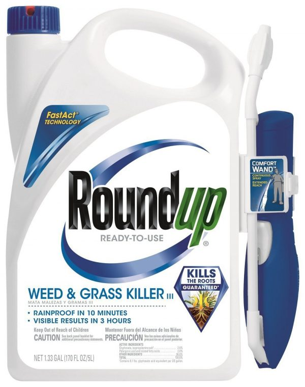 5. Roundup 5200210 Weed and Grass Killer III
