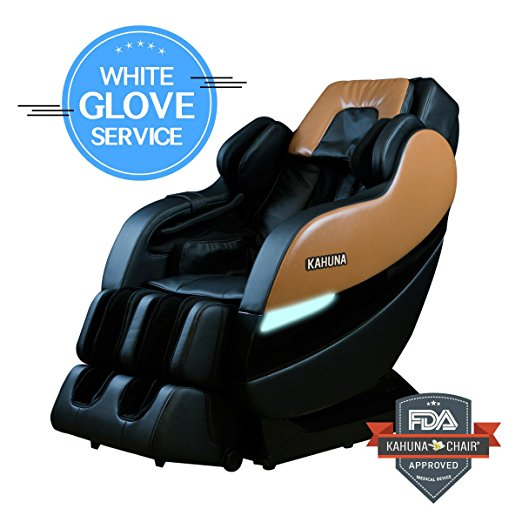 6. KAHUNA Superior Massage Chair with 6 Rollers
