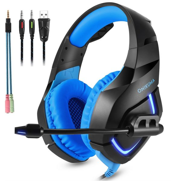 7. ONIKUMA Gaming Headset