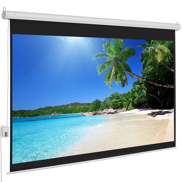 7. Motorized Electric Auto HD Projection Screen