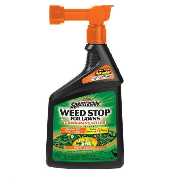 7. Spectracide Weed Stop For Lawns Plus Crabgrass Killer Concentrate