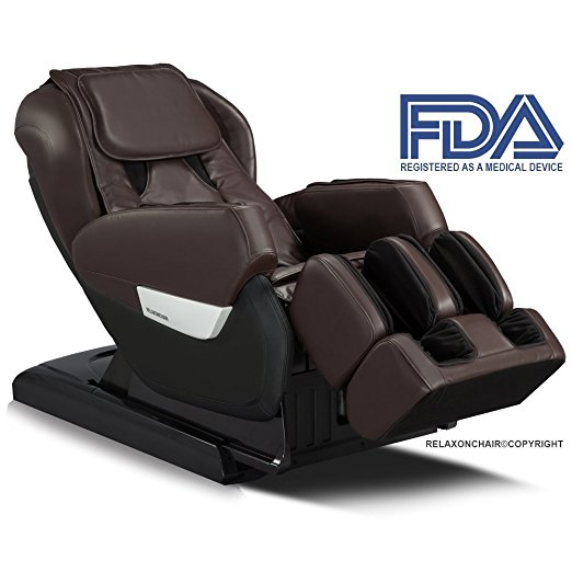 7. Relaxonchair MK-IV Full Body Zero Gravity Shiatsu Massage Chairs