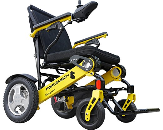 7. Forcemech Power Wheelchair
