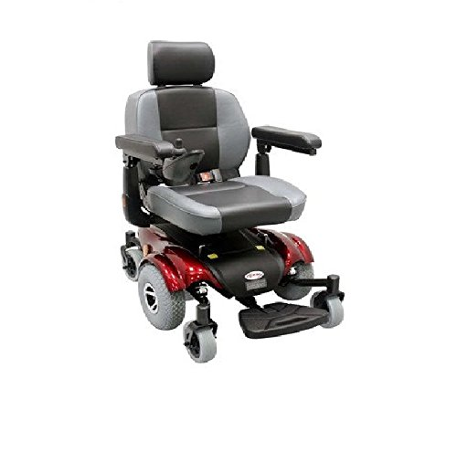 8. Upgraded Compact Mid-Wheel Power Chair