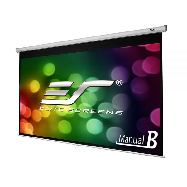 9. Elite Screens Manual, Pull Down Projector Screen
