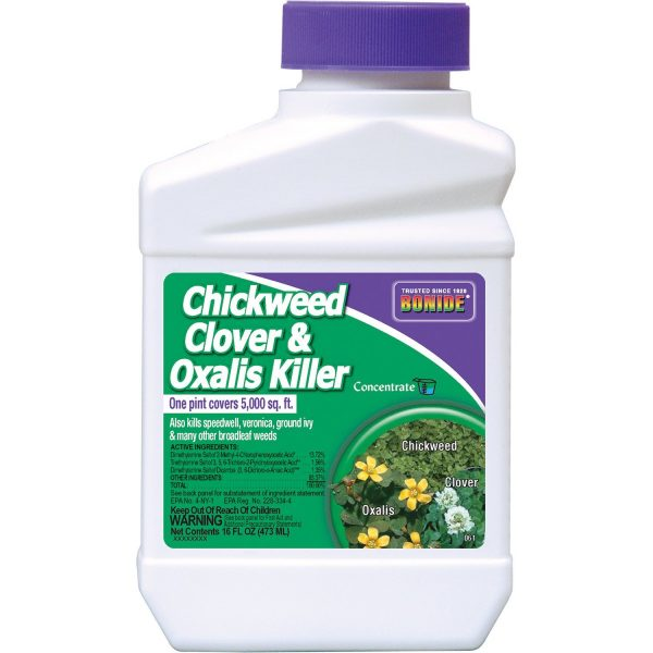 9. Bonide Chemical Chickweed, Clover and Oxalis Killer