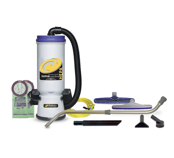 2. ProTeam Backpack Vacuums, Super CoachVac