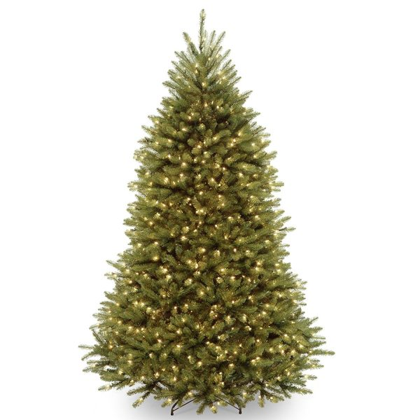 4. Best Choice Products Premium Spruce Hinged Artificial Christmas Tree