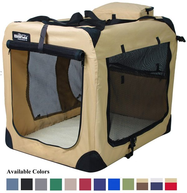 4. EliteField Soft Dog Crate