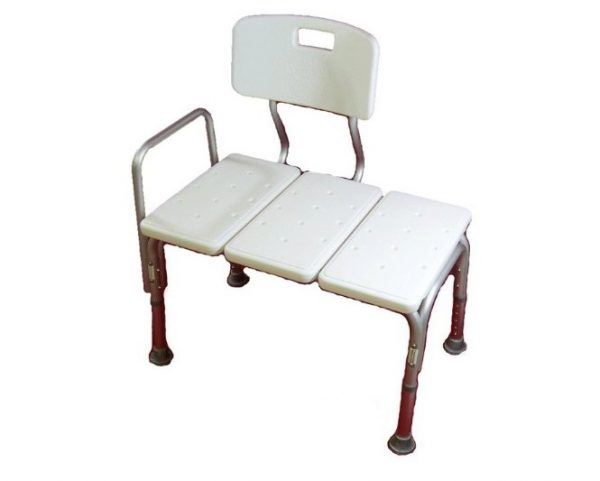 5. MedMobile® Bath Chair with Back