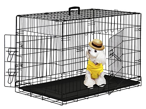 5. BestPet Wire Cage with Metal Pan
