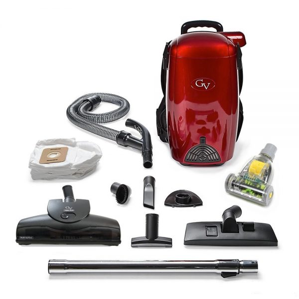 6. GV 8 Quart Powerful Lightweight HEPA BackPack Vacuum
