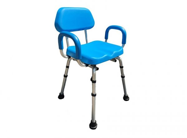 9. Comfortable(tm) Deluxe Shower Chair
