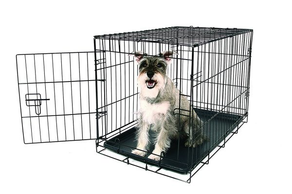 9. Carlson Pet Products Metal Dog Crate
