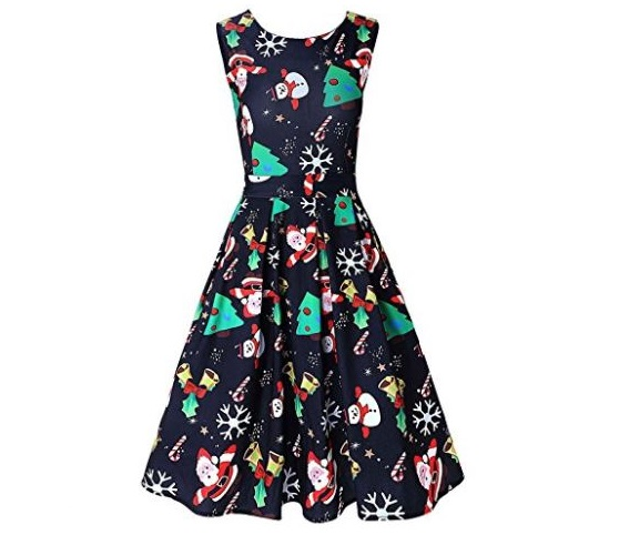 1. DREAGAL Vintage 1950's Floral Spring Garden Party Picnic Dress Party Cocktail Dress