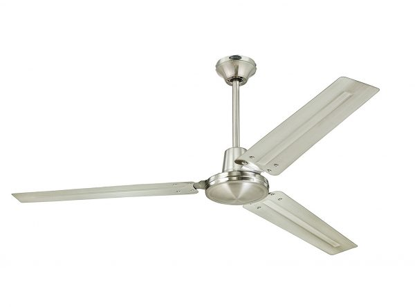 1. Westinghouse Industrial 56-Inch Three-Blade Indoor Ceiling Fan