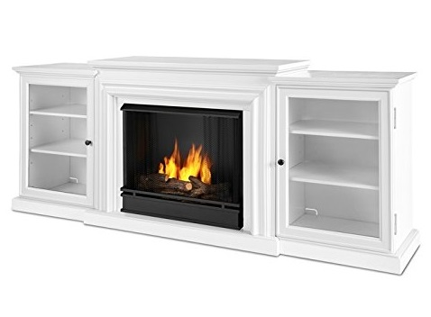 10. Real Flame Frederick Gel Fuel Fireplace