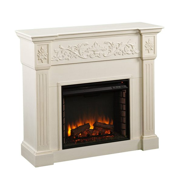 2. SEI Calvert Electric Fireplace