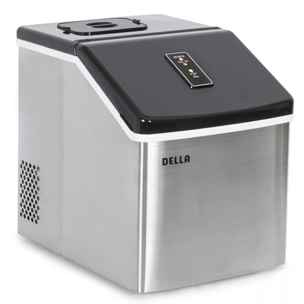 3. Della Electric Ice Maker Machine Portable Counter Top Yield Up To 28 Pounds of Ice Daily