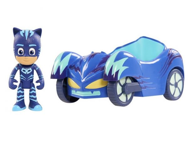 4. Just Play PJ Masks Vehicle Catboy and Cat-Car