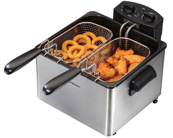 5. Hamilton Beach Electric Deep Fryer