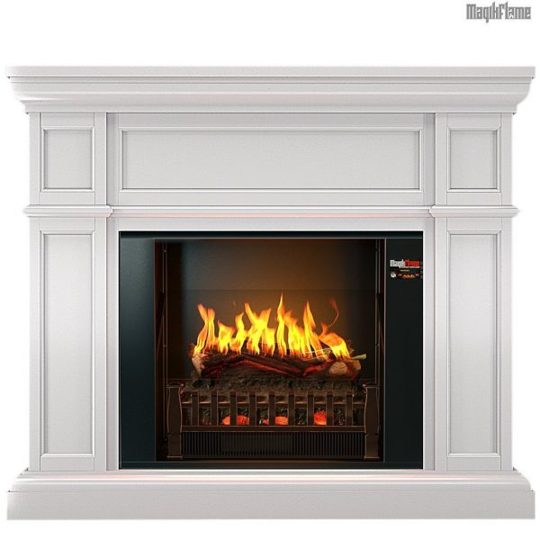 5. MagikFlame Television Console with Fireplace