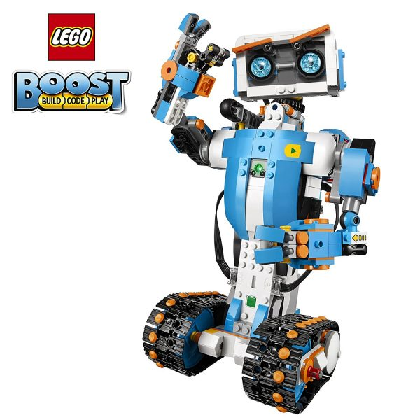 6. LEGO Boost Creative Toolbox 17101 Building and Coding Kit (847 Pieces)