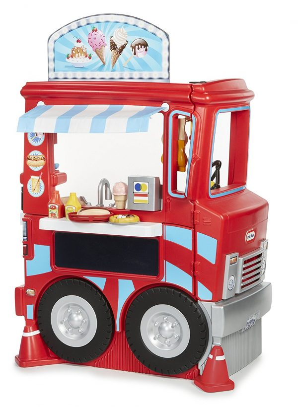 6. Little Tikes 2-in-1 Food Truck