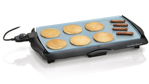 7. Hamilton Beach 38518 Durathon Ceramic Griddle