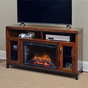 9. Comfort Smart Harper Infrared Electric Fireplace