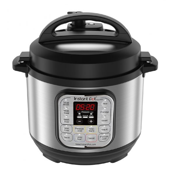 6. Instant Pot Duo Mini 3 Qt 7-in-1 Multi- Use Programmable Pressure Cooker