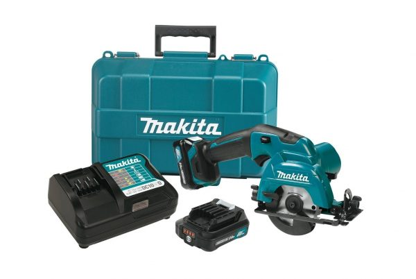 10. Makita SH02R1 12V Max CXT Lithium-Ion Cordless Circular Saw Kit