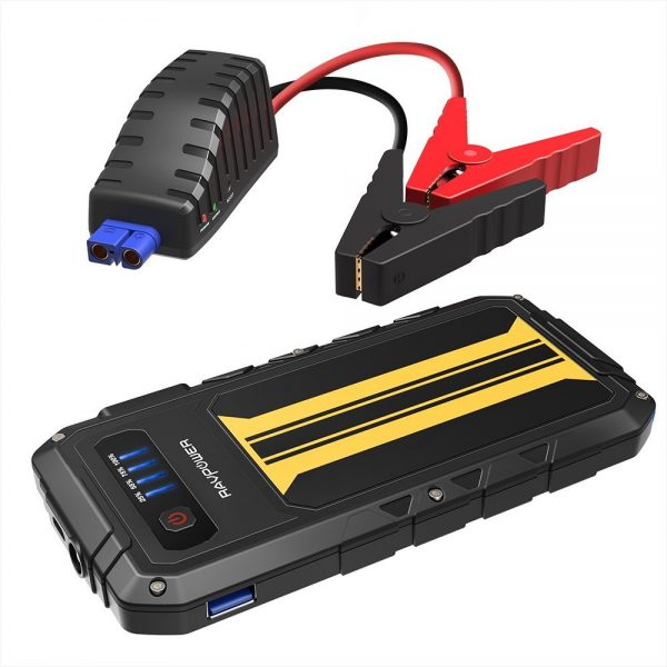 2. Car Jump Starter RAVPower 300A Peak Current