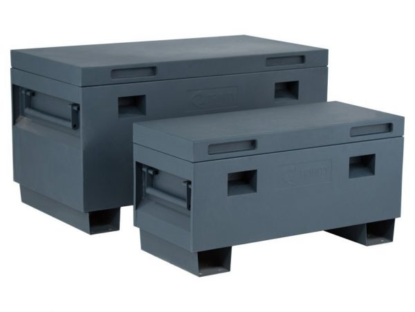 5. TRINITY TXKPGR-0502 Job Site Box, 36, Gray