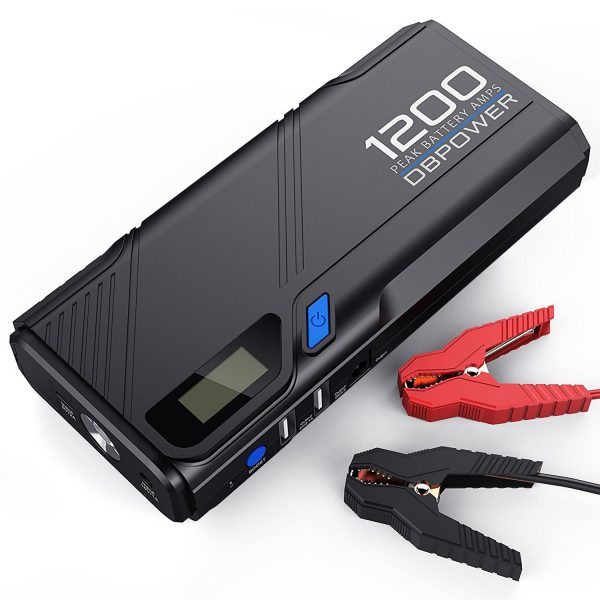 8. DBPOWER 1200A Peak Portable Car Jump Starter