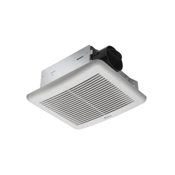 1. Delta Breez SLM70 Slim 70 CFM Exhaust Fan- Best Bathroom Ventilation Fans