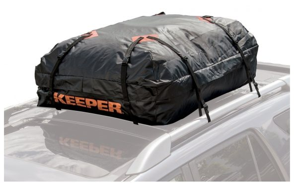 1. Keeper 07203-1 Waterproof Roof Top Cargo Bag (15 Cubic Feet)- Best Waterproof Cargo Bags