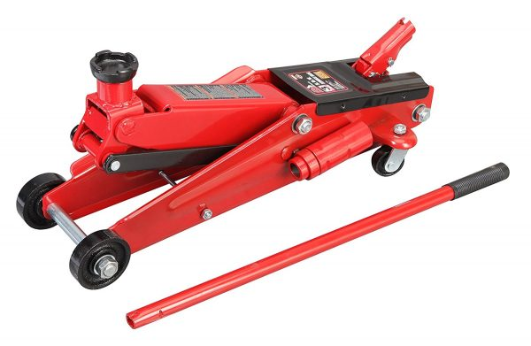 1. Torin Big Red Hydraulic Trolley Floor Jack