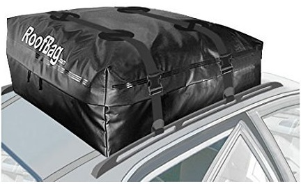 2. RoofBag Explorer Waterproof Soft Car Top Carrier for Any Car Van or SUV - Made in the USA