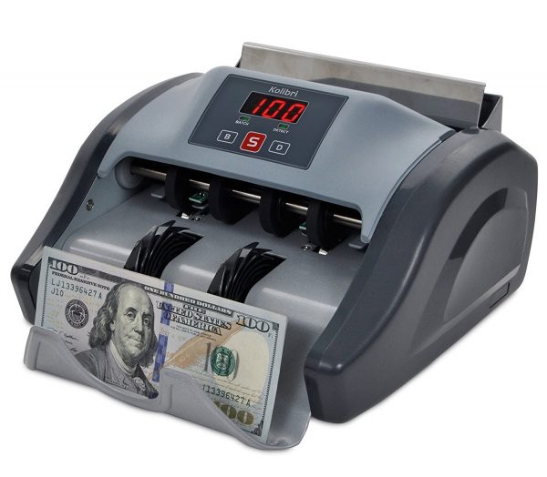 4. Kolibri Money Counter with UV Detection and 1-year Warranty