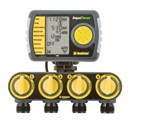 4. Melnor 4-Zone Digital Water Timer