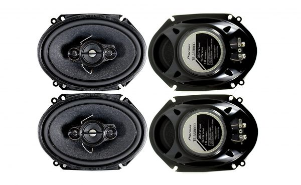 4. Pioneer, Inch 4-Way 350 Watt Car Stereo Speakers Four