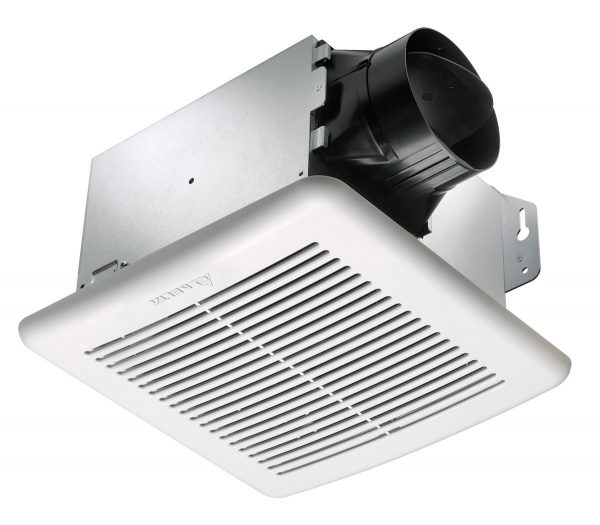 5. Delta BreezGreenBuilder GBR100 100 CFM Exhaust Bath Fan