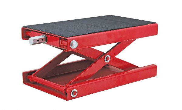 5. Extreme Max 5001.5044 Wide Motorcycle Scissor Jack - 1100 lb.