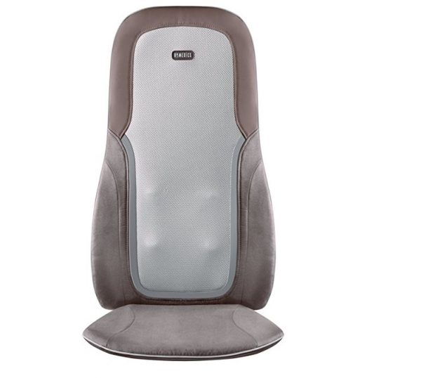 5. HoMedics MCS-750HA Quad Shiatsu Pro Massage Cushion with Heat