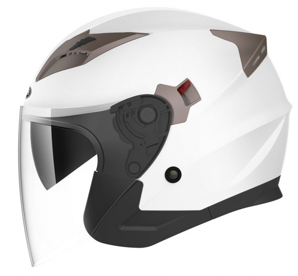 5. Motorcycle Open Face Helmet DOT Approved - YEMA YM-627 Motorbike