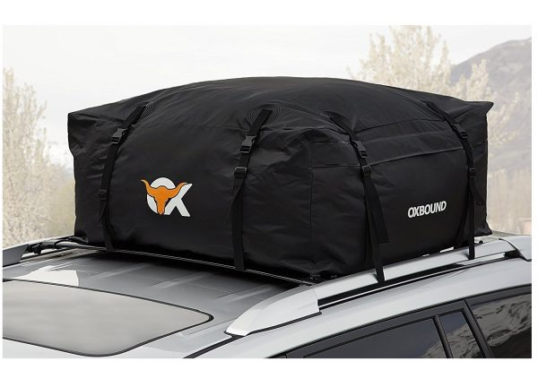 5. OXBOUND Roof Rack Cargo Carrier - Waterproof Car Top Bag
