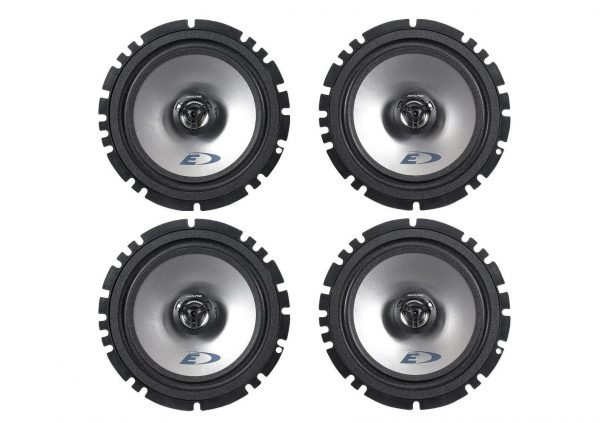 6. airs Alpine SXE-1725S, Watt RMS 4 Ohm 2-Way Coaxial Car Audio Speakers