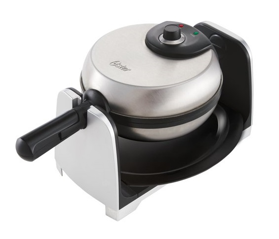 7. Oster Thick Belgian Flip Waffle Maker CKSTWFBF21, Brushed Stainless Steel